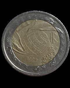 Itália 2 Euros 2004 - 50 Anos do Programa Alimentar Mundial