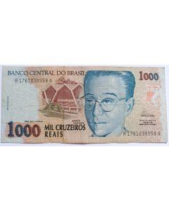 Brasil 1000 Cruzeiros Reais 1993 C238 MBC