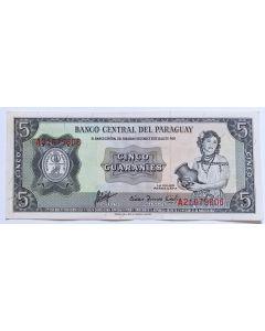 Paraguai 5 Guaranis 1963