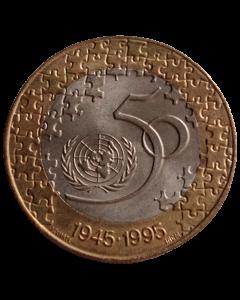 Portugal 200 Escudos 1995 - 50º aniversário - Nações Unidas