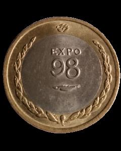 Portugal 200 Escudos 1998 - Ano Internacional dos Oceanos, EXPO'98