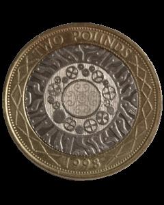 Reino Unido 2 Libras 1998