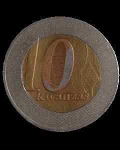 Angola 10 Kwanzas 2008