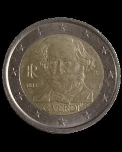 Itália 2 Euros 2013 - 200º aniversário - nascimento de Giuseppe Verdi