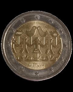 Lituânia 2 Euros 2018 - Canções e danças lituanas