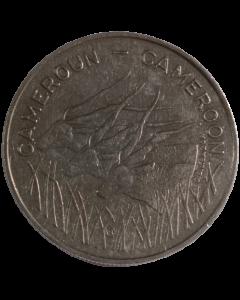 Camarões 100 Francos 1982