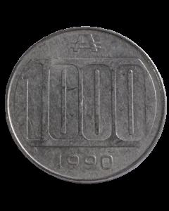 Argentina 1000 Australes 1990