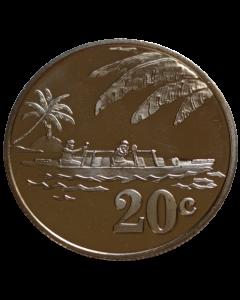 Tokelau 20 Cêntimos 2012 FC