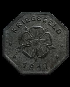 Estado federal de Lippe 10 Pfennig 1918 - Notgeld