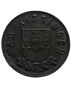 Cidade de Bad Kissingen 10 Pfennig 1918 - Notgeld