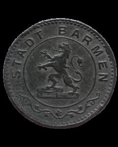 Cidade de Barmen 50 Pfennig 1917 - Notgeld