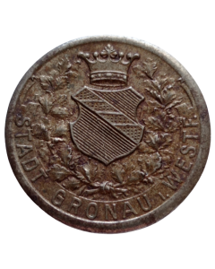 Cidade de Gronau 50 Pfennig 1919 - Notgeld