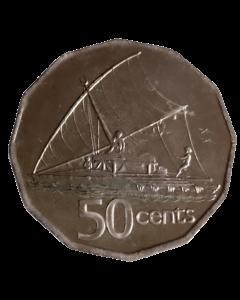 Fiji 50 Cents 2006 FC