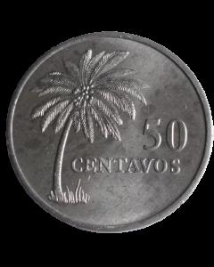 Guiné Bissau  50 Centavos 1977 FAO