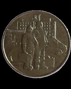 Rússia 25 Rublos 2020 FC - Trabalhadores da Saúde na Pandemia