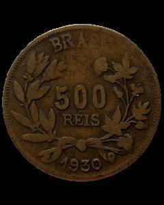 Brasil 500 Réis 1930