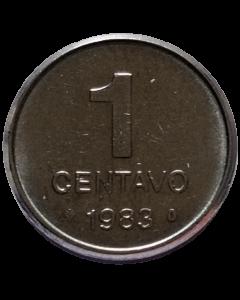 Brasil 1 Centavo 1983 FAO - Sojinha