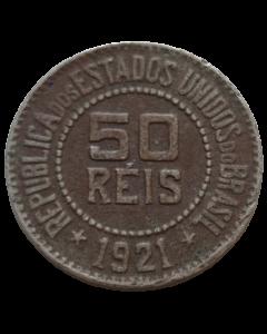 Brasil 50 Réis 1921