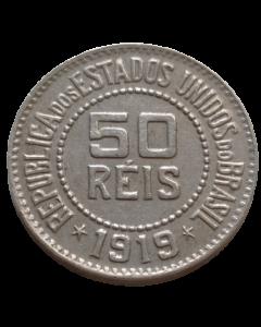 Brasil 50 Réis 1919