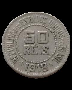 Brasil 50 Réis 1918