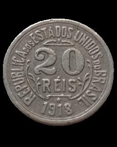 Brasil 20 Réis 1918