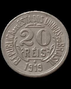 Brasil 20 Réis 1919