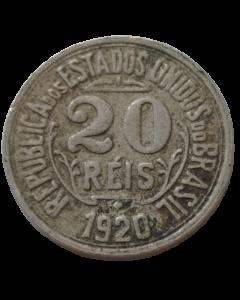 Brasil 20 Réis 1920