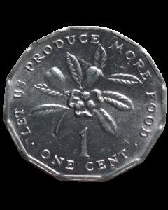 Jamaica 1 Cêntimo 1990 FC - FAO