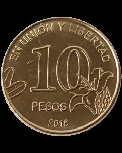 Argentina 10 Pesos 2018 FC - Caldén