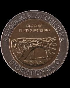 Argentina 1 Peso 2010 FC - Bicentenário da Argentina - Glacial Perito Moreno