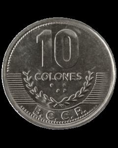 Costa Rica 10 Colones 2008 FC