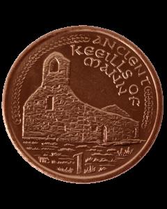 Ilha de Man 1 Penny 2002 FC