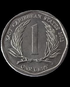 Caribe Oriental 1 Cent 2002 FC