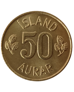 Islândia 50 Aurar 1974 FC