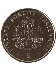 Haiti 5 Cêntimos 1997 FC