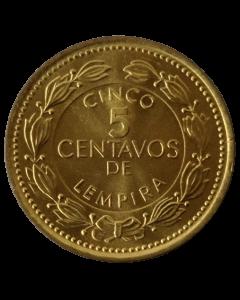 Honduras 5 Centavos de Lempira 1999 FC