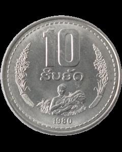 Laos 10 Att 1980 FC