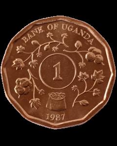Uganda 1 Shilling 1987 FC