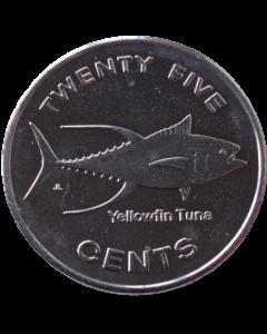 Micronésia 25 Cents 2012 *Exonumia*