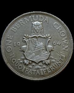 Bermuda 1 Coroa 1964 - Prata