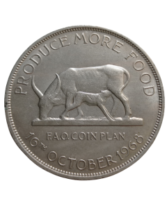 Uganda 5 Shillings 1968 FAO