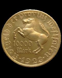 Província prussiana da Vestfália 10000 Mark 1923 - Notgeld