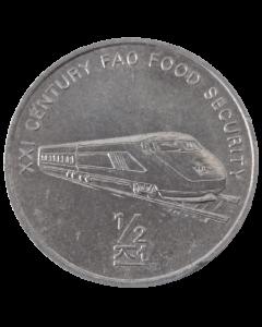 Coreia do Norte ½ chon 2002 - FAO - Trem