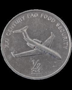 Coreia do Norte ½ chon 2002 - FAO - Avião