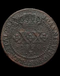 Brasil 20 Réis 1820 R