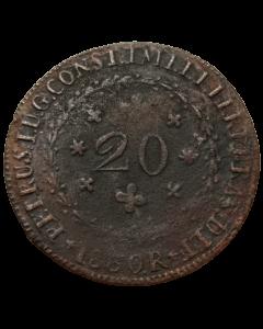Brasil 20 Réis 1830 R