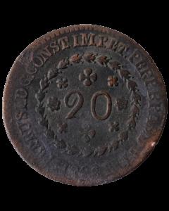 Brasil 20 Réis 1828 R
