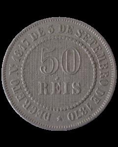 Brasil 50 Réis 1886