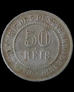 Brasil 50 Réis 1887