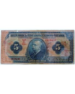 Brasil 5 Mil Réis 1936 - R100b
